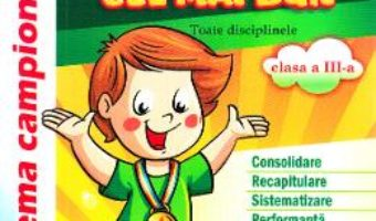 Cartea Vreau sa fiu cel mai bun – Clasa 3 – Maria Petrache (download, pret, reducere)