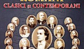 Carte Scriitori romani clasici si contemporani – Cartonase – Silvia Ursache PDF Online