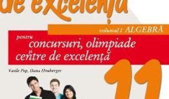 Carte Matematica de excelenta – Clasa 11. Vol. 1: Algebra. Ed. 2 – Vasile Pop, Dana Heuberger PDF Online