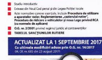 Carte Codul rutier act. 1 septembrie 2017 – Mircea Ursuta PDF Online