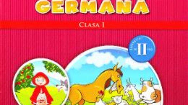 Carte Limba moderna germana clasa 1 sem. 2 + CD – Naomi Achim, Eugenia Rosian PDF Online