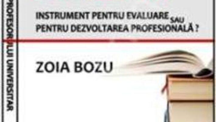 Carte Portofoliul profesorului universitar – Zoia Bozu PDF Online