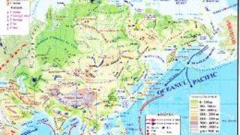 Carte Asia – Harta Fizica + Harta Politica 1:46.000.000 (pliata) PDF Online