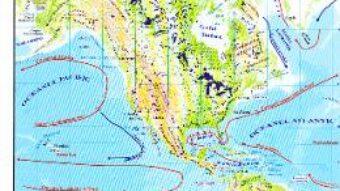 Carte America – Harta Fizica + Harta Politica 1:46.000.000 (pliata) PDF Online