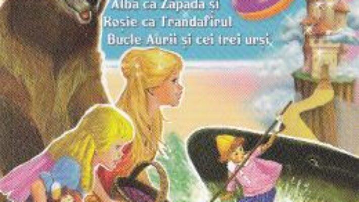 Cartea Carticica mea cu Povesti celebre 5: Cenusareasa, Tom Degetel…. PDF Online