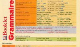 Cartea Plansa Grammaire Francaise 1 PDF Online
