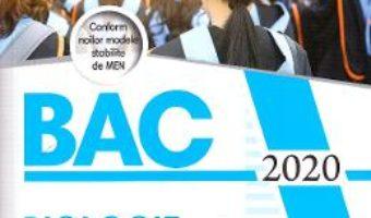 Cartea Bacalaureat 2020. Biologie – Clasele 9 si 10 – Silvia Olteanu, Camelia Voicu (download, pret, reducere)