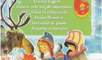 Cartea Carticica mea cu povesti celebre: Craiasa Zapezii, Hainele cele Noi… (download, pret, reducere)