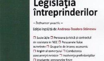 Cartea Legislatia intreprinderilor. Act. la 19 septembrie 2019 (download, pret, reducere)