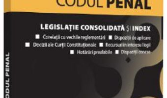 Cartea Codul penal: Octombrie 2019 (download, pret, reducere)