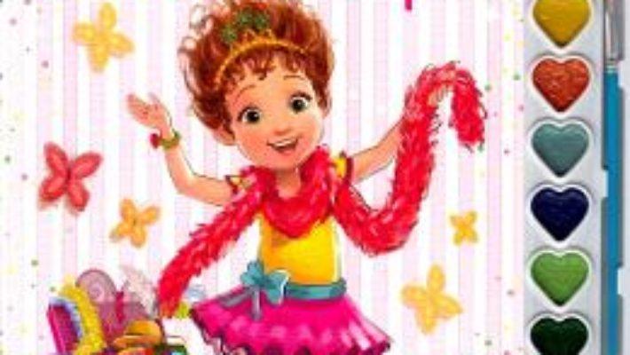 Cartea Disney: Fancy Nancy. Pictam cu sclipici. Carte de colorat cu pensula si acuarele (download, pret, reducere)