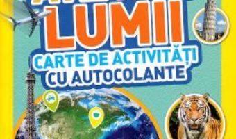 Cartea Atlasul lumii. Carte de activitati cu autocolante (download, pret, reducere)