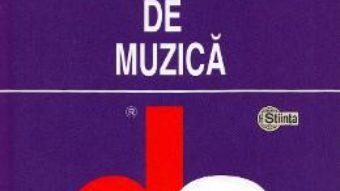 Cartea Dictionar de muzica – Ion Gagim (download, pret, reducere)