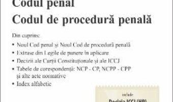 Cartea Codul penal. Codul de procedura penala Act. 4.11.2019 (download, pret, reducere)