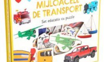 Cartea Sa invatam mijloacele de transport. Set educativ cu puzzle (download, pret, reducere)