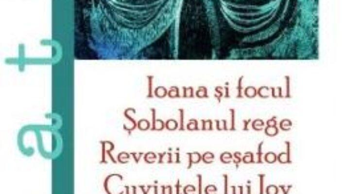 Cartea Ioana si focul. Sobolanul rege. Reverii pe esafod. Cuvintele lui Iov – Matei Visniec (download, pret, reducere)