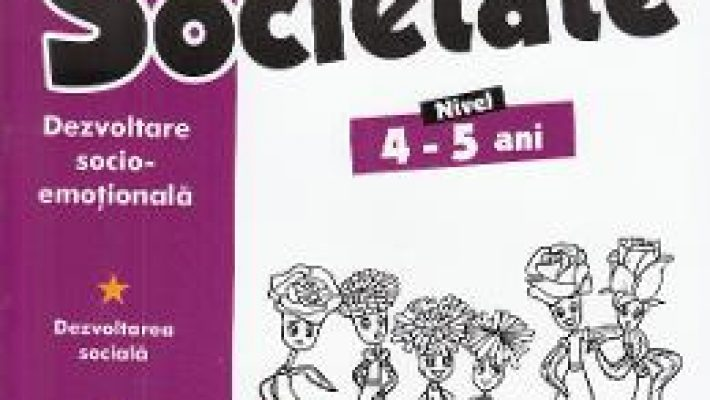 Cartea Educatie pentru societate 4-5 ani (download, pret, reducere)