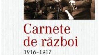 Cartea Carnete de razboi 1916-1917 – Grigore Romalo (download, pret, reducere)