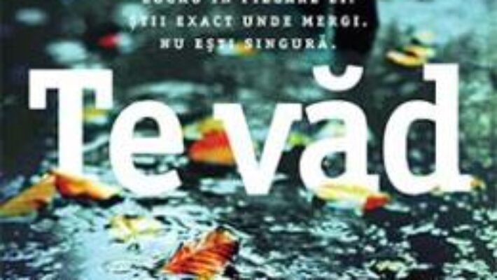 Cartea Te vad – Clare Mackintosh (download, pret, reducere)