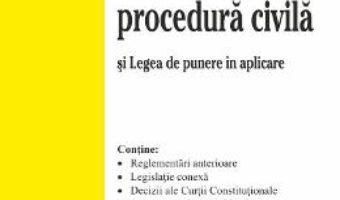 Cartea Codul de procedura civila act. 7 noiembrie 2017 (download, pret, reducere)