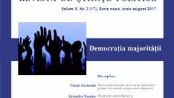 Cartea Polis vol.5 nr.3 (17) Serie noua iunie-august 2017 Revista de Stiinte Politice (download, pret, reducere)