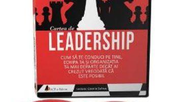 Cartea Audiobook. Cartea de leadership – Anthony Gell (download, pret, reducere)