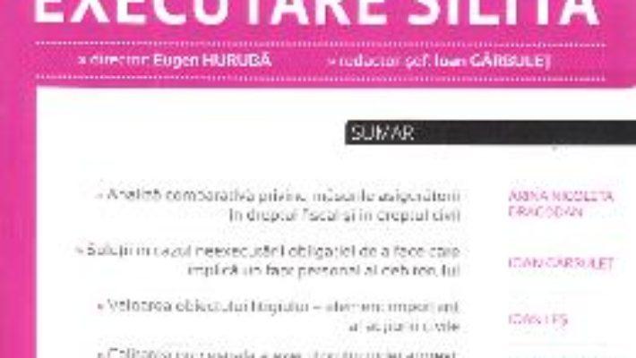 Cartea Revista romana de executare silita 3 din 2017 (download, pret, reducere)