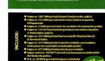 Cartea Legislatia personalului din administratia publica – Dan Constantin Mata (download, pret, reducere)