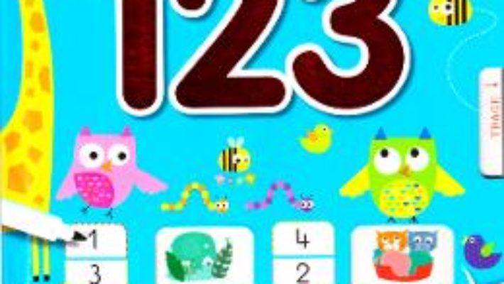 Cartea Sa invatam numerele: 1 2 3 – Scrii si stergi (download, pret, reducere)