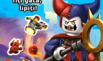 Cartea Lego Nexo Knights – Pe locuri, fiti gata, lipiti (download, pret, reducere)