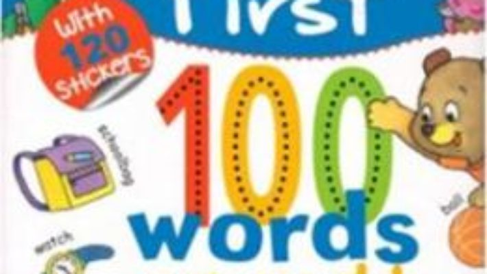 Cartea My First 100 Words: My World (download, pret, reducere)