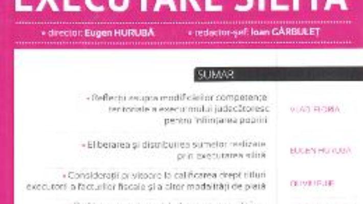 Cartea Revista romana de executare silita Nr. 4 din 2017 (download, pret, reducere)