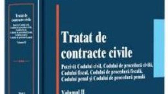 Cartea Tratat de contracte civile Vol.2 – Oliviu Puie (download, pret, reducere)