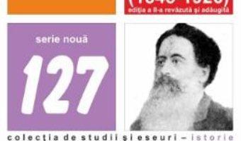 Cartea Minunata tacere a unui boier basarabean Vasile Stroescu (1845-1926) Ed.2 – Constatin I. Stan (download, pret, reducere)