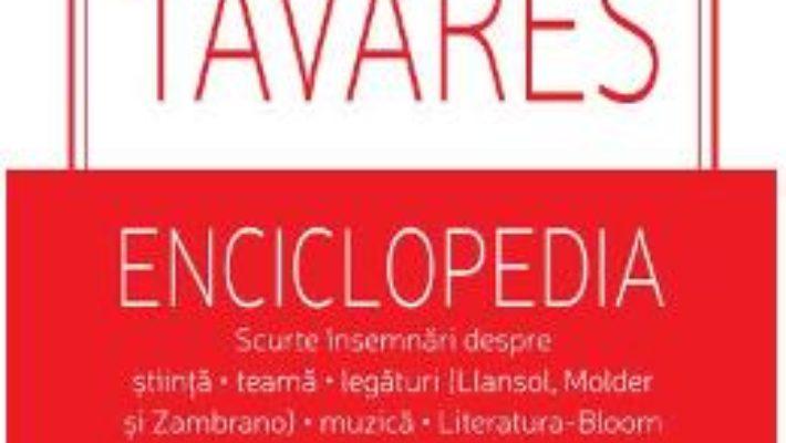 Cartea Enciclopedia – Goncalo M. Tavares (download, pret, reducere)