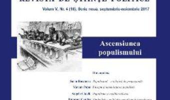 Cartea Polis Vol. V, Nr. 4 (18) Serie Noua, Septembrie-Noiembrie 2017 (download, pret, reducere)