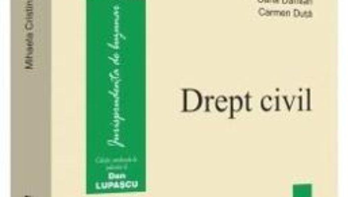 Cartea Drept civil – Mihaela Cristina Mocanu (download, pret, reducere)