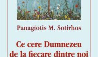 Cartea Ce cere Dumnezeu de la fiecare dintre noi – Panagiotis M. Sotirhos (download, pret, reducere)