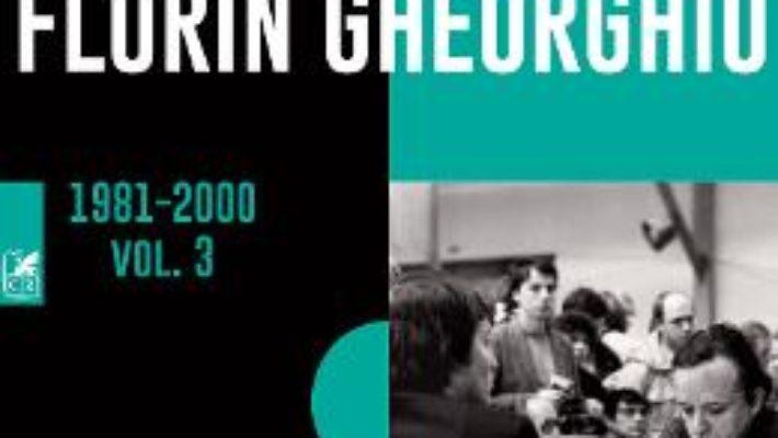 Cartea Integrala de sah 1981-2000 Vol.3 – Florin Gheorghiu (download, pret, reducere)