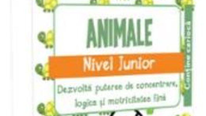 Cartea IQ Focus – Animale. Nivel Junior 3-4 ani (download, pret, reducere)