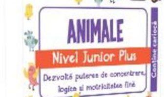 Cartea IQ Focus – Animale. Nivel Junior Plus 4-5 ani (download, pret, reducere)