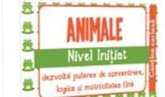 Cartea IQ Focus – Animale. Nivel Initiat 5-6 ani (download, pret, reducere)