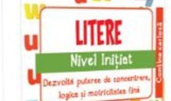 Cartea IQ Focus – Litere. Nivel initiat 5-6 ani (download, pret, reducere)