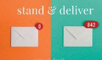 Cartea Stand and deliver – Dale Carnegie (download, pret, reducere)