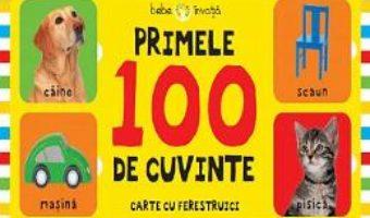 Cartea Primele 100 de cuvinte (Carte cu ferestruici – Bebe invata) (download, pret, reducere)
