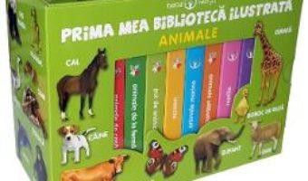 Cartea Prima mea biblioteca ilustrata: Animale. Bebe invata (Cutie cu 8 carticele) (download, pret, reducere)