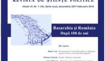 Cartea Polis Vol.6 Nr.1(19) Serie noua Decembrie 2017-Februarie 2018 Revista de Stiinte Politice (download, pret, reducere)