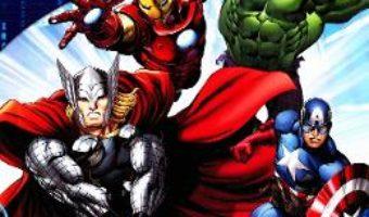 Cartea Avengers Assemble. Razbunatorii. Carte joc cu 12 figurine si plansa ilustrata. (download, pret, reducere)