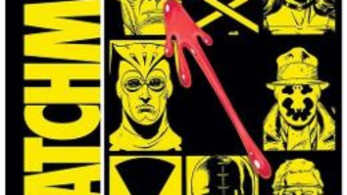 Cartea Watchmen – Alan Moore, Dave Gibbons (download, pret, reducere)
