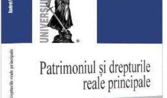 Cartea Patrimoniul si drepturile reale principale – Andrei Dutu (download, pret, reducere)